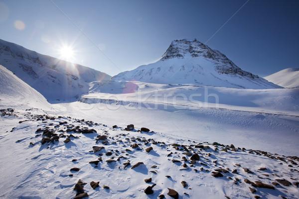 Svalbard Stock photo © SimpleFoto