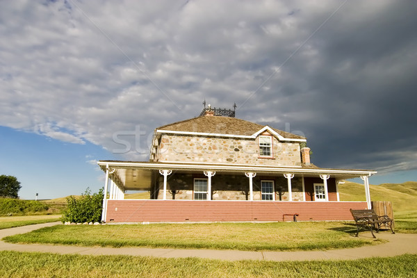 Old Stone house Stock photo © SimpleFoto
