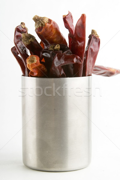 Chillies in a Can Stock photo © SimpleFoto