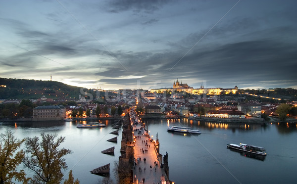 Prague Castle Cityscape Stock photo © SimpleFoto