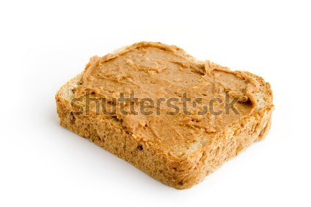 Chunky Peanut Butter Slice Stock photo © SimpleFoto
