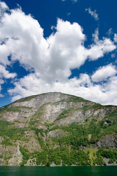 Норвегия живописный природы пейзаж дождь Сток-фото © SimpleFoto