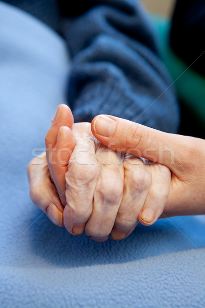 Elderly Care Stock photo © SimpleFoto