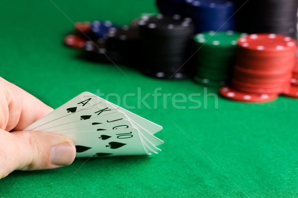 Royal Flush Stock photo © SimpleFoto