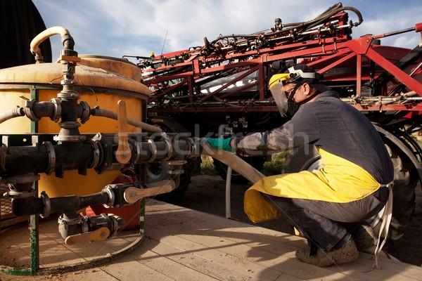 Farm Chemical Spray Stock photo © SimpleFoto