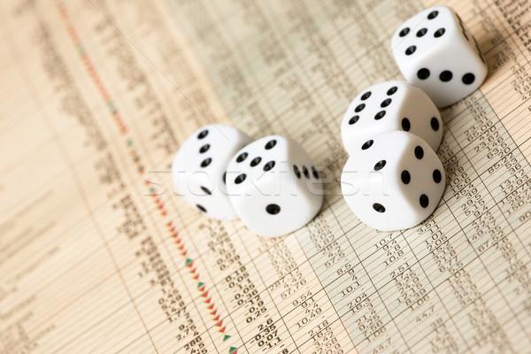 Stock Market Decision Stock photo © SimpleFoto
