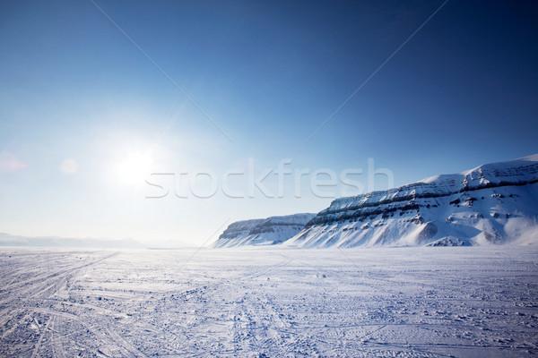Stock photo: Svalbard Landscape
