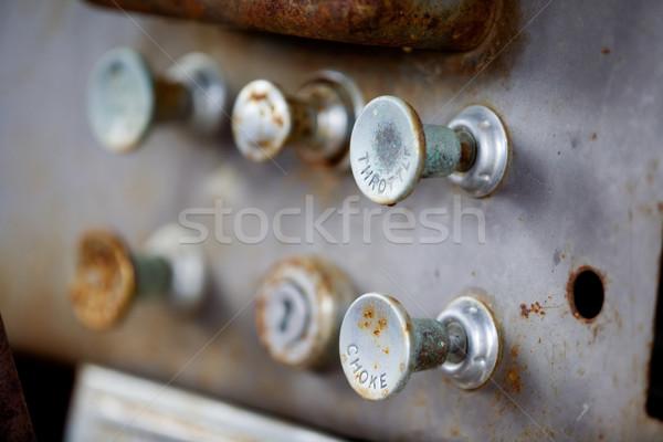 Steampunk Knobs Stock photo © SimpleFoto
