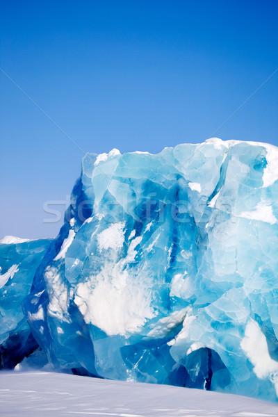 Glacier Detail Stock photo © SimpleFoto