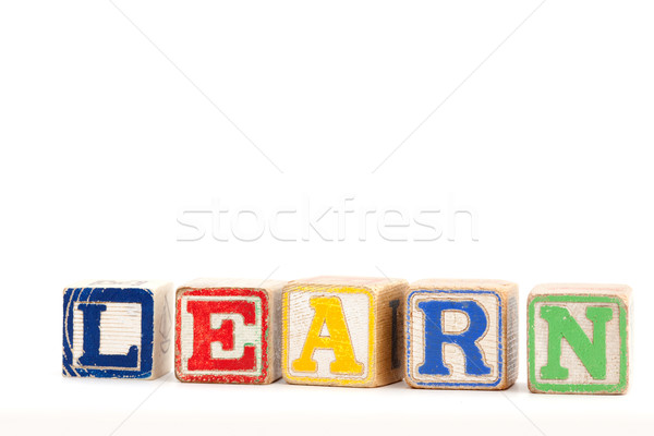 Spell Learn Stock photo © SimpleFoto