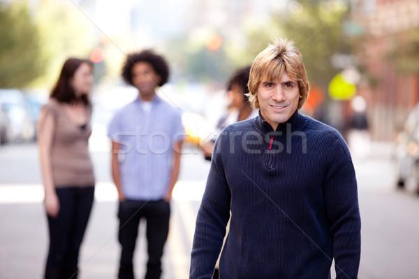 Urban People City Stock photo © SimpleFoto