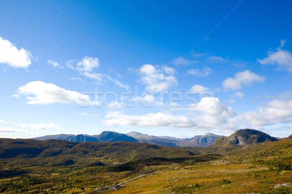Norwegian Mountain Range Stock photo © SimpleFoto