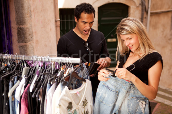 Expensive Clothes Shopping Stock photo © SimpleFoto
