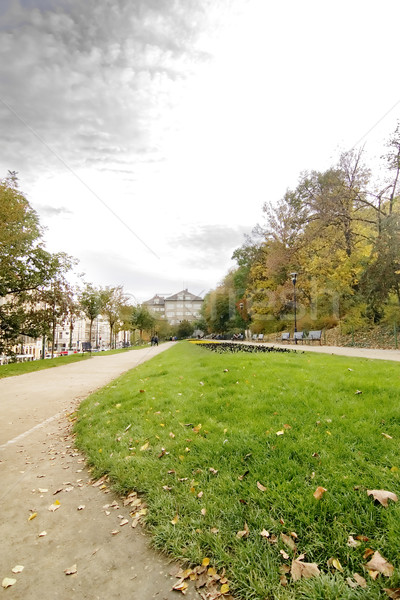 Prague Park - Mala Strana Stock photo © SimpleFoto