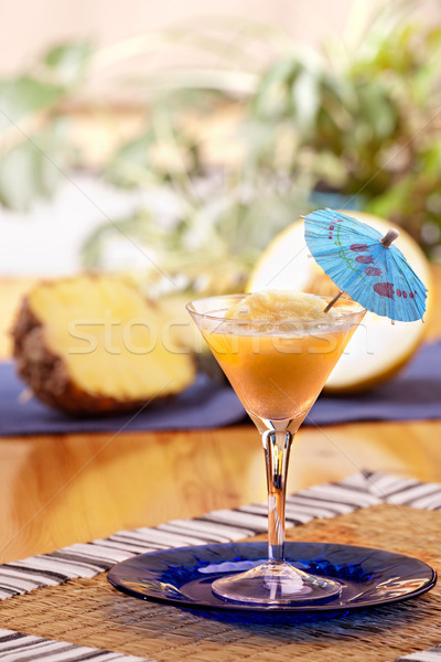 Pina Colada Smoothie Stock photo © SimpleFoto