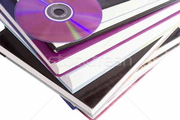 Cd libro libri immagine digitale Foto d'archivio © SimpleFoto