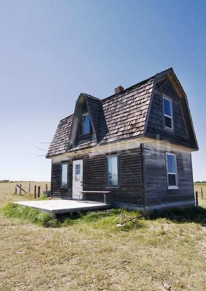 Prairie Homestead Stock photo © SimpleFoto