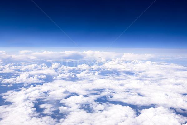 Aerial Cloudscape Stock photo © SimpleFoto