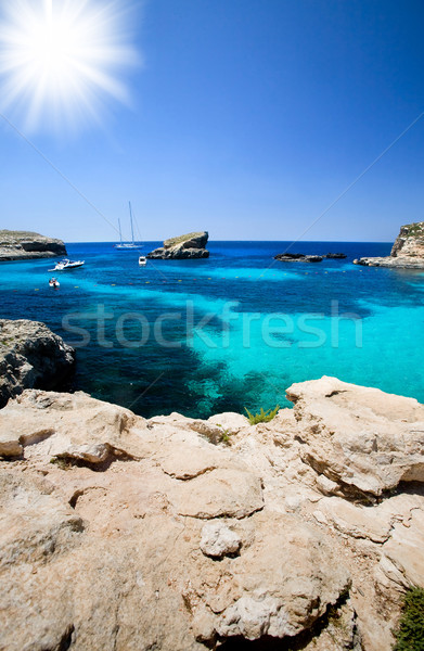 Blue Lagoon Stock photo © SimpleFoto
