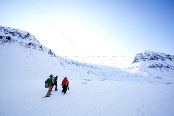 Winter Tourism Stock photo © SimpleFoto