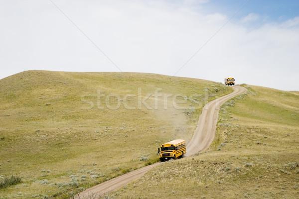 Tour Bus Stock photo © SimpleFoto