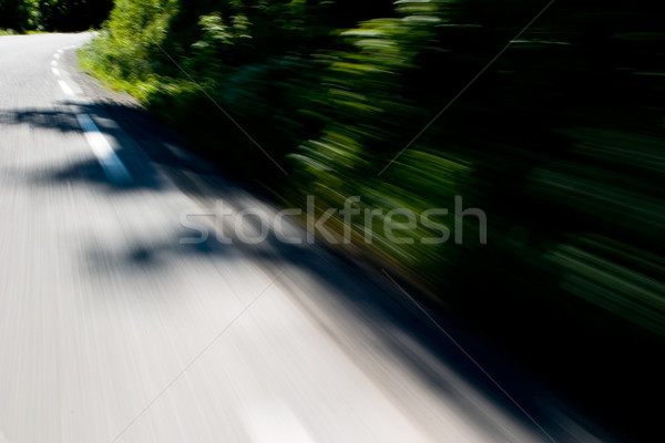 Motion blur Road Stock photo © SimpleFoto