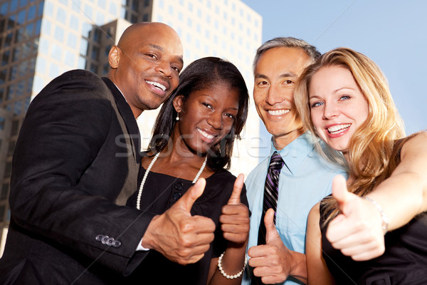 Business Thumbs Up Stock photo © SimpleFoto