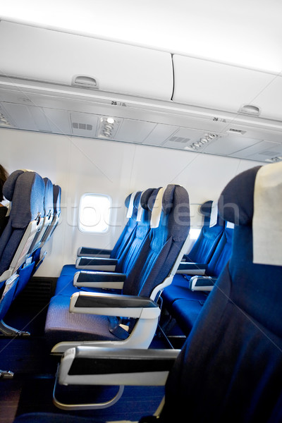 Airplane Interior Stock photo © SimpleFoto