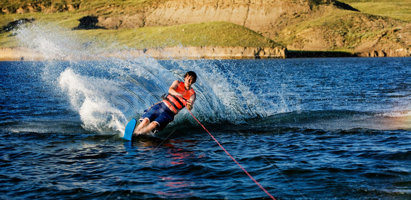 Waterskiing Stock photo © SimpleFoto