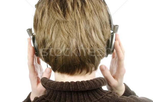 Headphones Stock photo © SimpleFoto