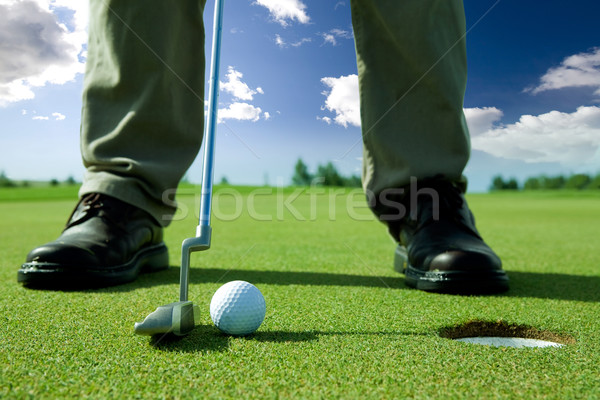 Golf Putt Stock photo © SimpleFoto