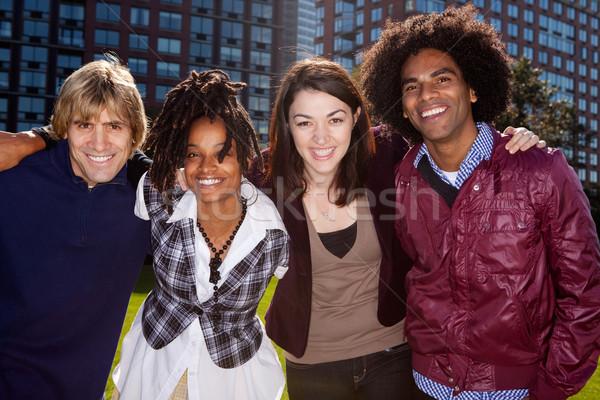 University Students Stock photo © SimpleFoto