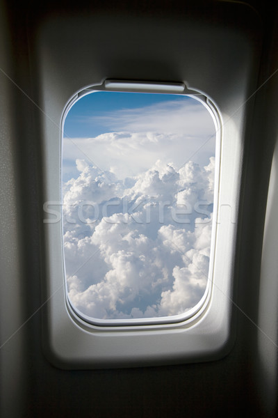 Plane Window Stock photo © SimpleFoto
