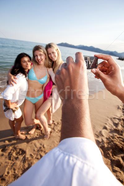 Camera Phone Picture Stock photo © SimpleFoto