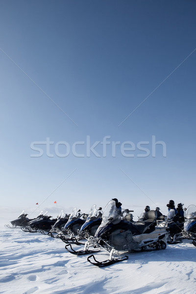 Snowmobile Trip Stock photo © SimpleFoto