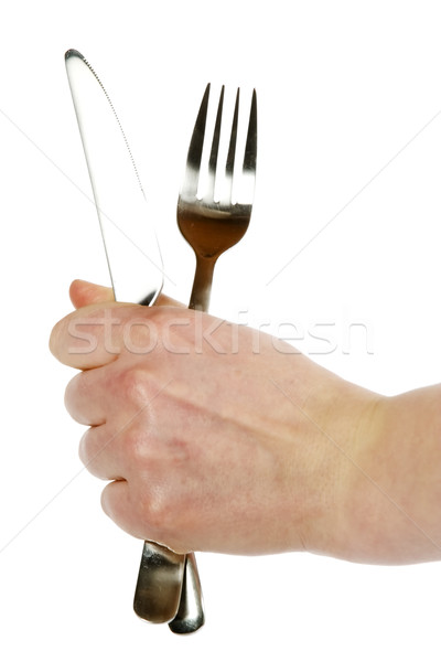 Knife and Fork Stock photo © SimpleFoto