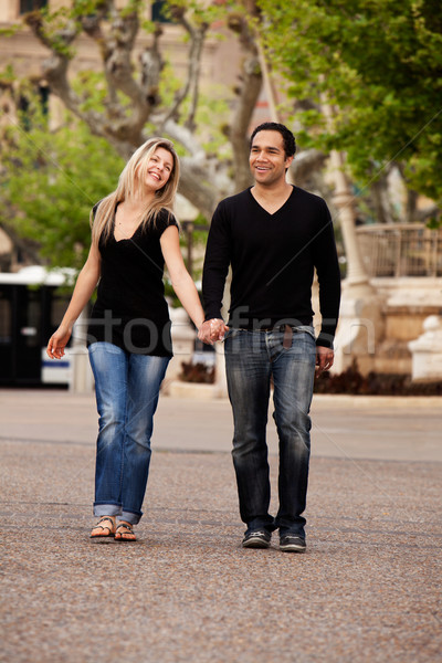 Urban Date Lifestyle Stock photo © SimpleFoto