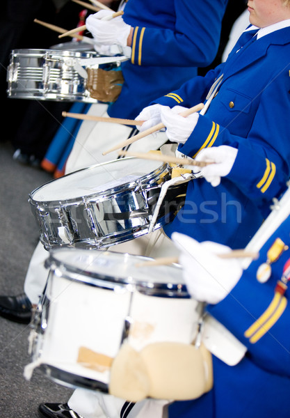 Marching Drummers Stock photo © SimpleFoto