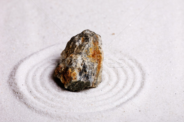Zen Rock Garden Stock photo © SimpleFoto