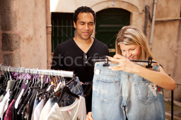 Epensive Clothes Shopping Stock photo © SimpleFoto