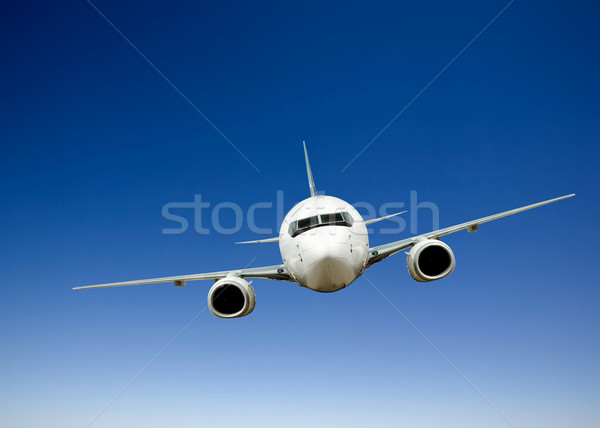 Airplane Flight Stock photo © SimpleFoto