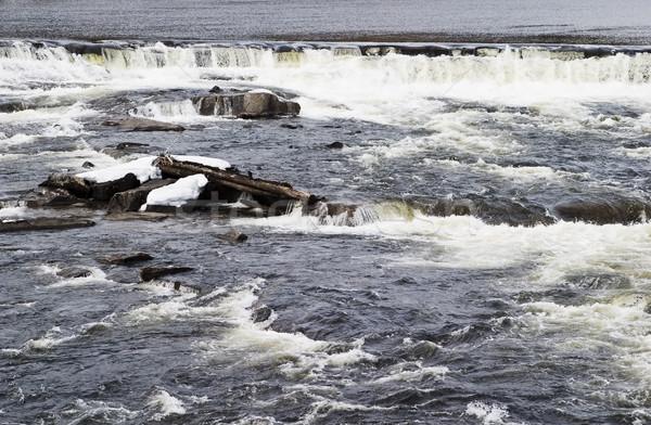 急速 水 テクスチャ 画像 自然 ストックフォト © SimpleFoto