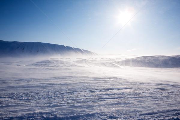 Snow Mountain Stock photo © SimpleFoto