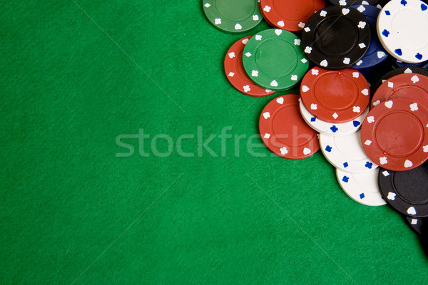 Casino Chip Background Stock photo © SimpleFoto
