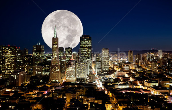 Full Moon Stock photo © SimpleFoto