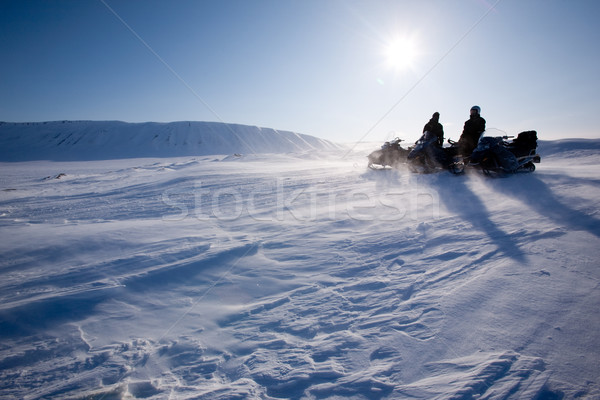 Winter Mountain Travel Stock photo © SimpleFoto