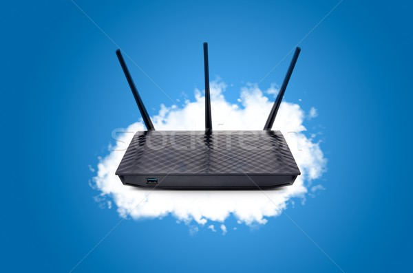 Router with data in your own cloud Stock photo © simpson33