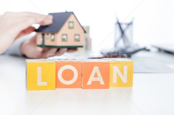 LOAN word with colorful blocks Stock photo © simpson33