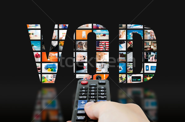 Video on demand television service Stock photo © simpson33
