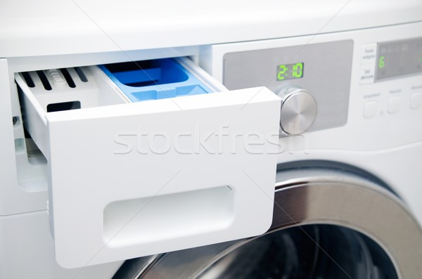 Modern washing machine drawer Stock photo © simpson33